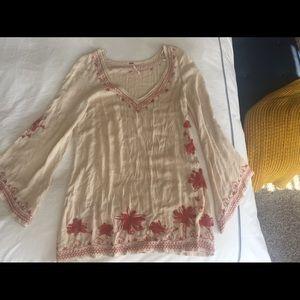 Boho mini dress or shirt 🌻 by Free People 📿